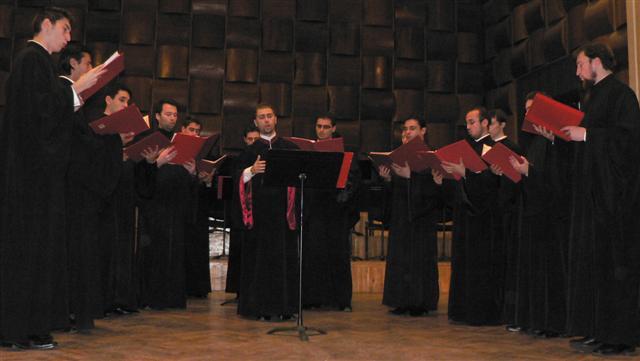11 nov. 2005 si 2006: Concert bizantin în Palatul Cultural din ARAD