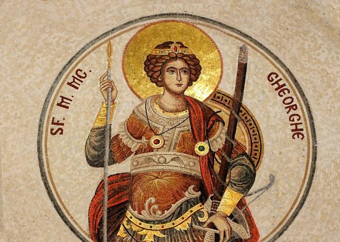 sf.gheorghe mozaic